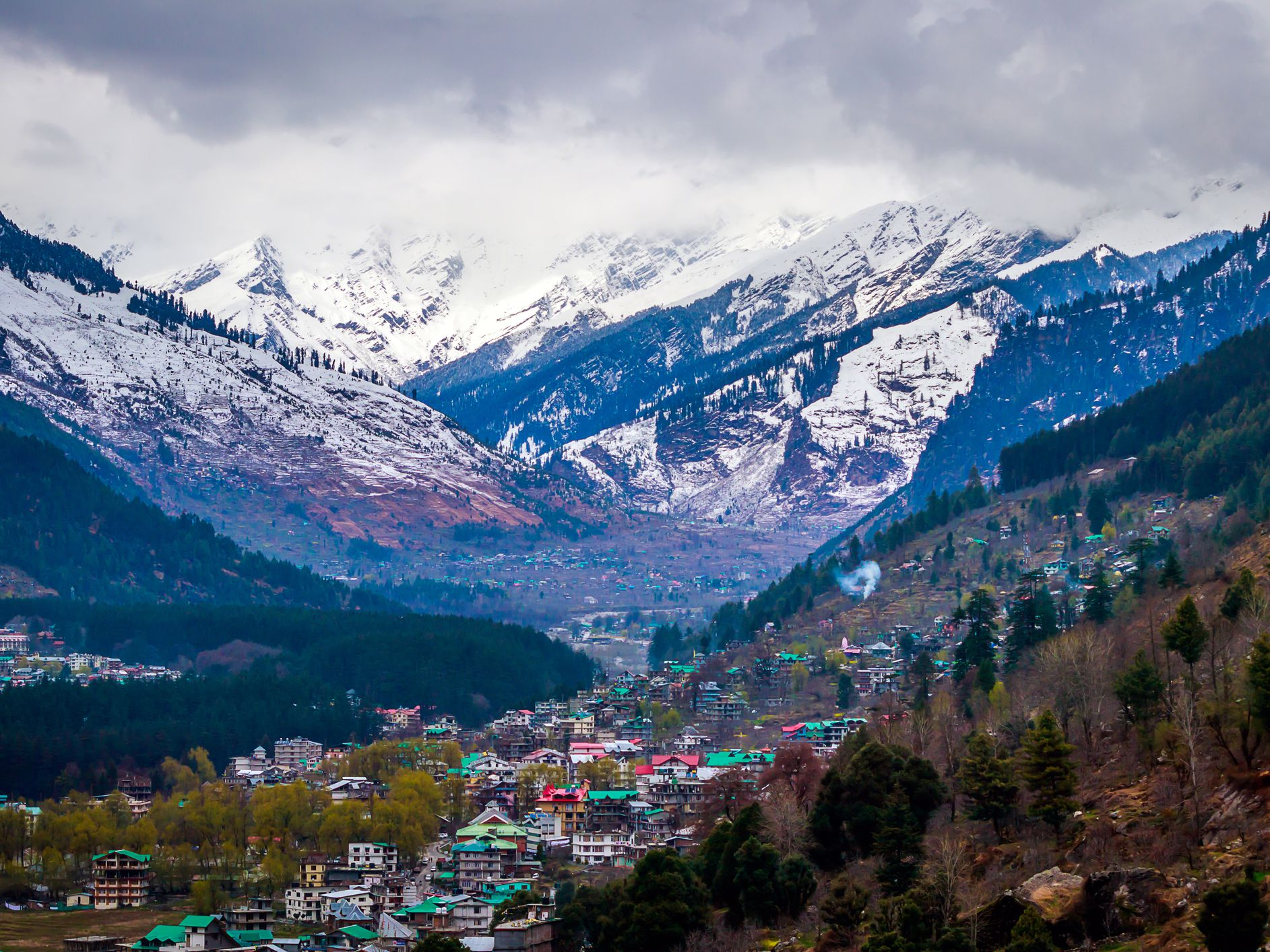 Day 1 - Drive from Manali to Jobra